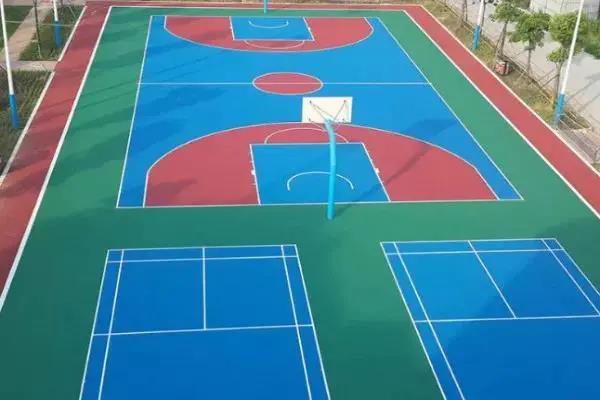 亚太地坪展 | EPDM塑胶篮球场我们该如何施工呢?